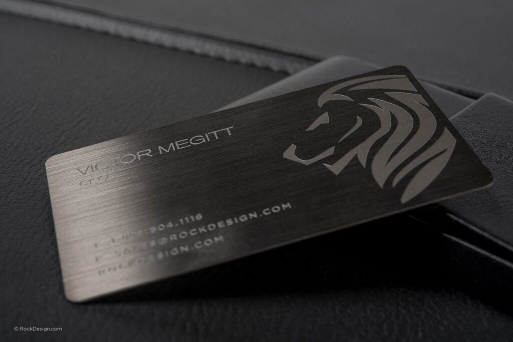 Metal Business Cards: The New Revolution